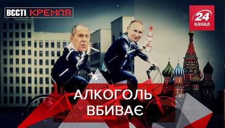 Вєсті Кремля: Лукашенко повірив у COVID-19. Історична деменція в Путіна