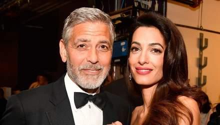 Джордж Клуни и его жена пожертвовали миллион долларов на борьбу с коронавирусом