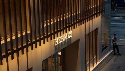 Модный дом Hermes в Китае заработал более 2 миллионов долларов в первый день отмены карантина
