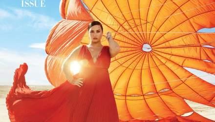 Деми Ловато украсила обложку Harper's Bazaar и рассказала о вражде с Селеной Гомес