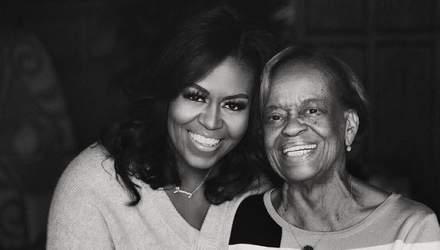 Мишель Обама показала свою 82-летнюю мать и попросила всех звонить родителям во время карантина