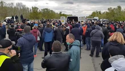 У Херсоні фермери протестують проти закриття ринків: фото, відео