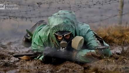 Россия стягивает войска радиационной и химической защиты на границы с Украиной