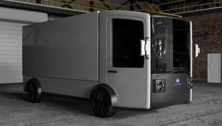 Украинские разработчики показали дизайн электрогрузовика CoolOn