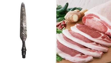 Древним копьем времен Киевской Руси в Винницкой области кололи свиней