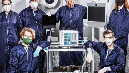 В NASA разработали принципиально новую модель аппаратов ИВЛ: фото, видео