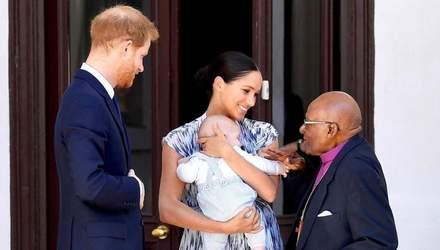 Маленькому Арчі виповнився рік: яким буде свято сина принца Гаррі та Меган Маркл