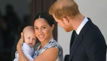 Як тепер виглядає син принца Гаррі та Меган Маркл: нове відео, яке підкорило мережу