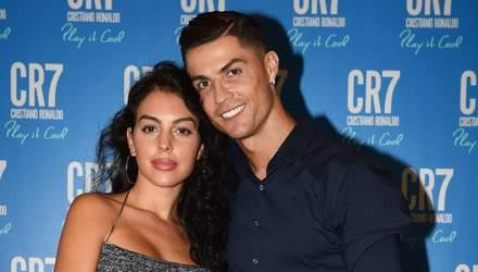 ЗМІ запідозрили наречену Кріштіану Роналду у вагітності: фото