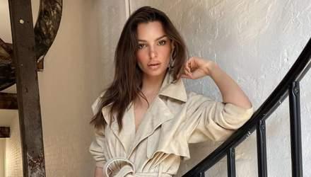 Сексапільна модель Емілі Ратажковскі пояснила, чому робить еротичні фото (18+)