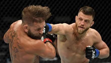 Рефері врятував бійця UFC після жорсткого нокауту: відео