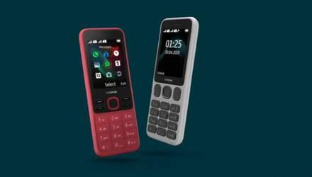 Nokia 125 і Nokia 150: кнопкові телефони з батареєю до кількох тижнів роботи