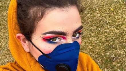 """Тренд """"залишайся вдома"""": макіяж і манікюр, як методи боротьби проти коронавірусу"""