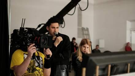Дан Балан змінив амплуа: артист став режисером свого кліпу з Оксаною Мухою