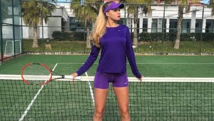 Груди не поміщаються в корсет: гаряча українська тенісистка вразила своєю відвертістю – фото
