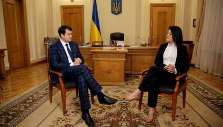 Есть ли в Раде коррупция, конверты и влияние Банковой: Разумков раскрыл детали работы парламента