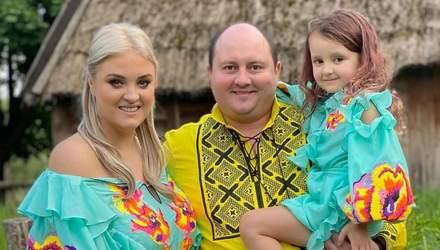 Дружина Юрія Ткача пофарбувала волосся 5-річної доньки: зірки пояснили причину