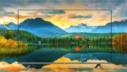 Xiaomi випустила бюджетний смарт-телевізор з дуже тонкими рамками