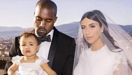 Сім'ї Кім Кардашян і Каньє Веста – 6 років: найромантичніші фото пари