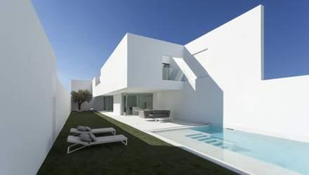 Білосніжний інтер'єр: фото осучасненого будинку з мусульманської епохи Іспанії
