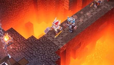 Minecraft Dungeons:  Microsoft  анонсувала нову частину популярної франшизи