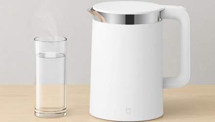 Xiaomi выпустила умный чайник с дисплеем и функцией термоса