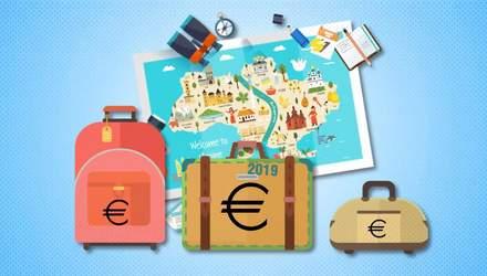 Скільки витратили туристи в Україні за 2019 рік: неочікувані цифри