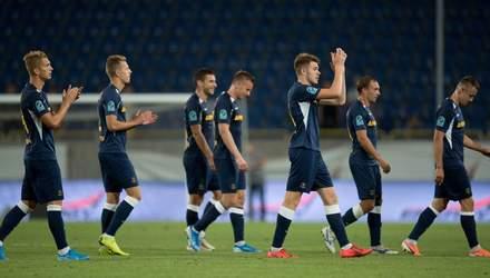 """""""Дніпро-1"""" впевнено переміг """"Олімпік"""" та закріпив лідерство у нижній шістці: відео"""