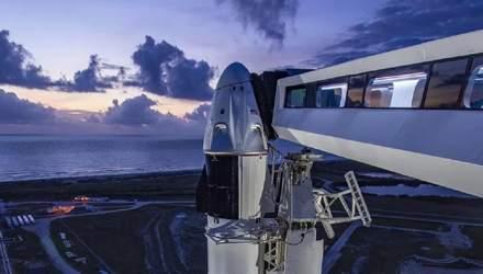 Запуск SpaceX Demo-2 можуть знову відкласти – синоптики обіцяють погану погоду