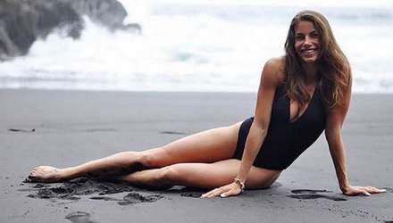 Красуня Бех-Романчук похизувалась пікантним фото у купальнику