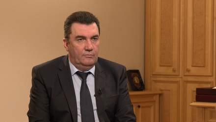 О развале России и окончании войны на Донбассе: интервью с секретарем СНБО Даниловым