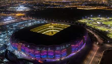 У Катарі відкрили черговий стадіон до чемпіонату світу 2022 року: вражаючі фото