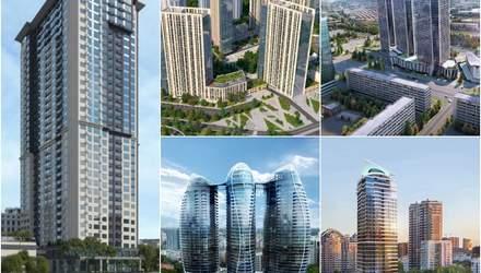 Де у Києві будуватимуть нові хмарочоси: названо вулиці