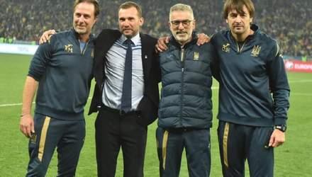 У сборной Украины по футболу появится новый тренер