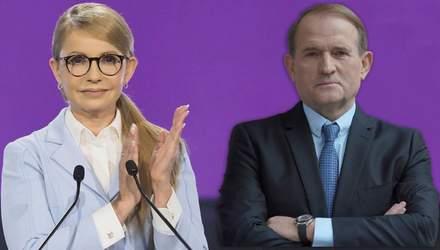 """Тимошенко, Медведчук та інші – вірні друзі російського """"Газпрому"""""""