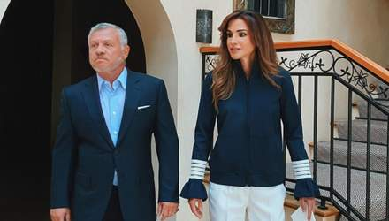 Королева Иордании показала, как выглядит в обыденной жизни