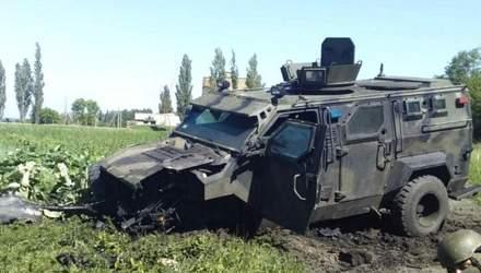 """Техніка війни: Підрив броньовика КрАЗ """"Спартан"""". Модернізований танк M-84 AS1"""