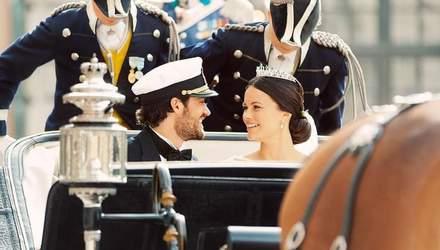 Принц Швеции показал фото со своей свадьбы, которых еще не было в сети