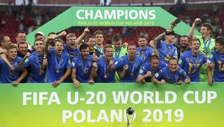 Историческое достижение: год назад сборная Украины выиграла чемпионат мира по футболу U-20 – вид