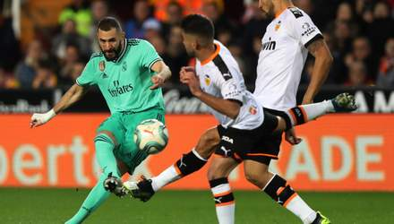 Реал – Валенсия: где смотреть онлайн матч Ла Лиги