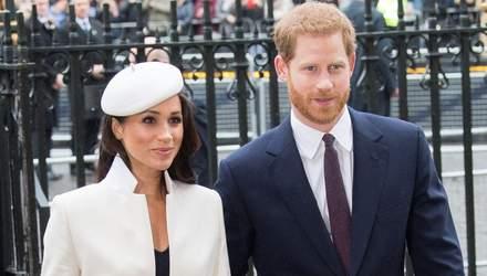 Принцу Гаррі та Меган Маркл відмовили у реєстрації торгової марки, названої на честь сина