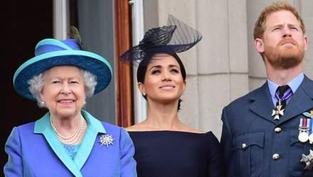 Весілля Гаррі та Меган спричинило конфлікт з Єлизаветою ІІ: від чого відмовився онук королеви