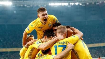 Ліга націй та Євро-2020: календар матчів збірної України