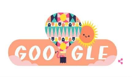 Google посвятил свой новый дудл дню летнего солнцестояния