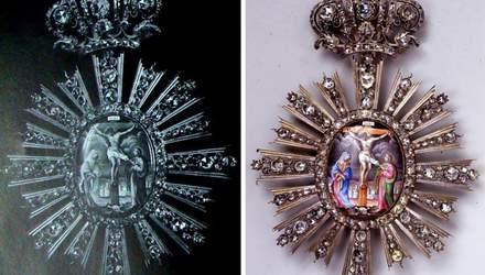Зниклі з Києво-Печерської лаври та Софійського собору коштовності знайшлися в Москві: фото