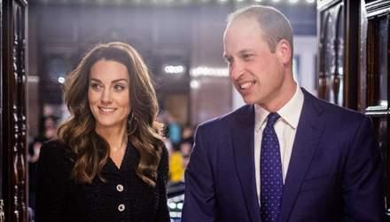 Кейт Міддлтон та принц Вільям поділилися фотографіями зі своїми татусями