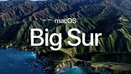 Зустрічайте macOS Big Sur: абсолютно новий дизайн в стилі iOS