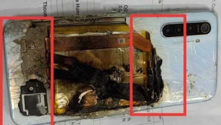 Смартфон вибухнув через добу після купівлі: жахливі фото