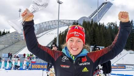 """Новий виклик для олімпійської чемпіонки: німецька """"ракета"""" Дальмаєр повертається у біатлон"""