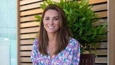 У сукні з квітковим принтом: Кейт Міддлтон показала бездоганний літній образ – фото